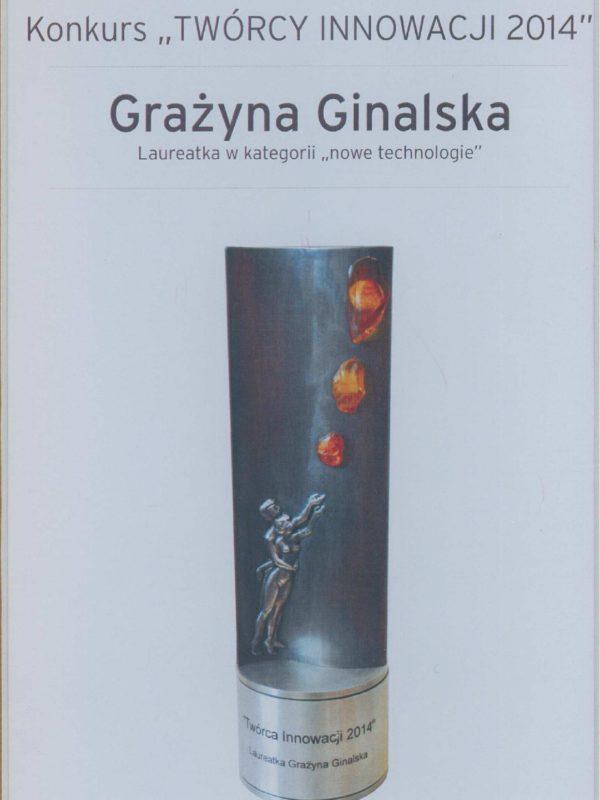 Laureat-TworcyInnowacji2014_Ginalska-page-001